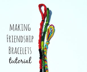 Making Friendship Bracelets