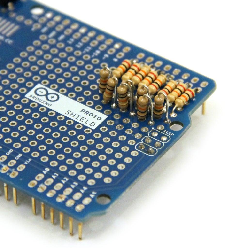 R2R DAC on Arduino Shield: Part 1