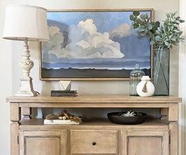 DIY Floating Frame for Canvas