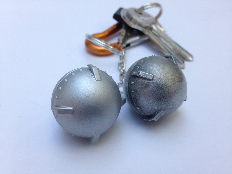 3D Printed Sputnik 1 Keychain