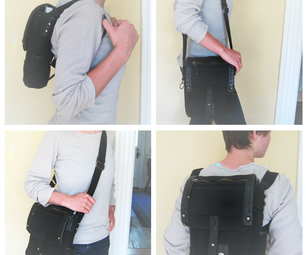 Easy DIY Transforming Purse-backpack