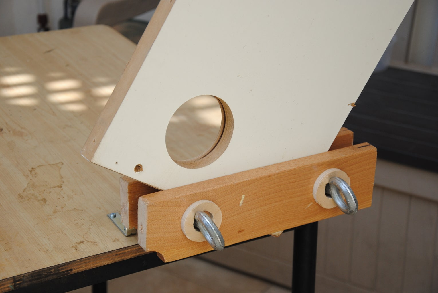 Use Your Homemade Twin-Screw Moxon Vise!