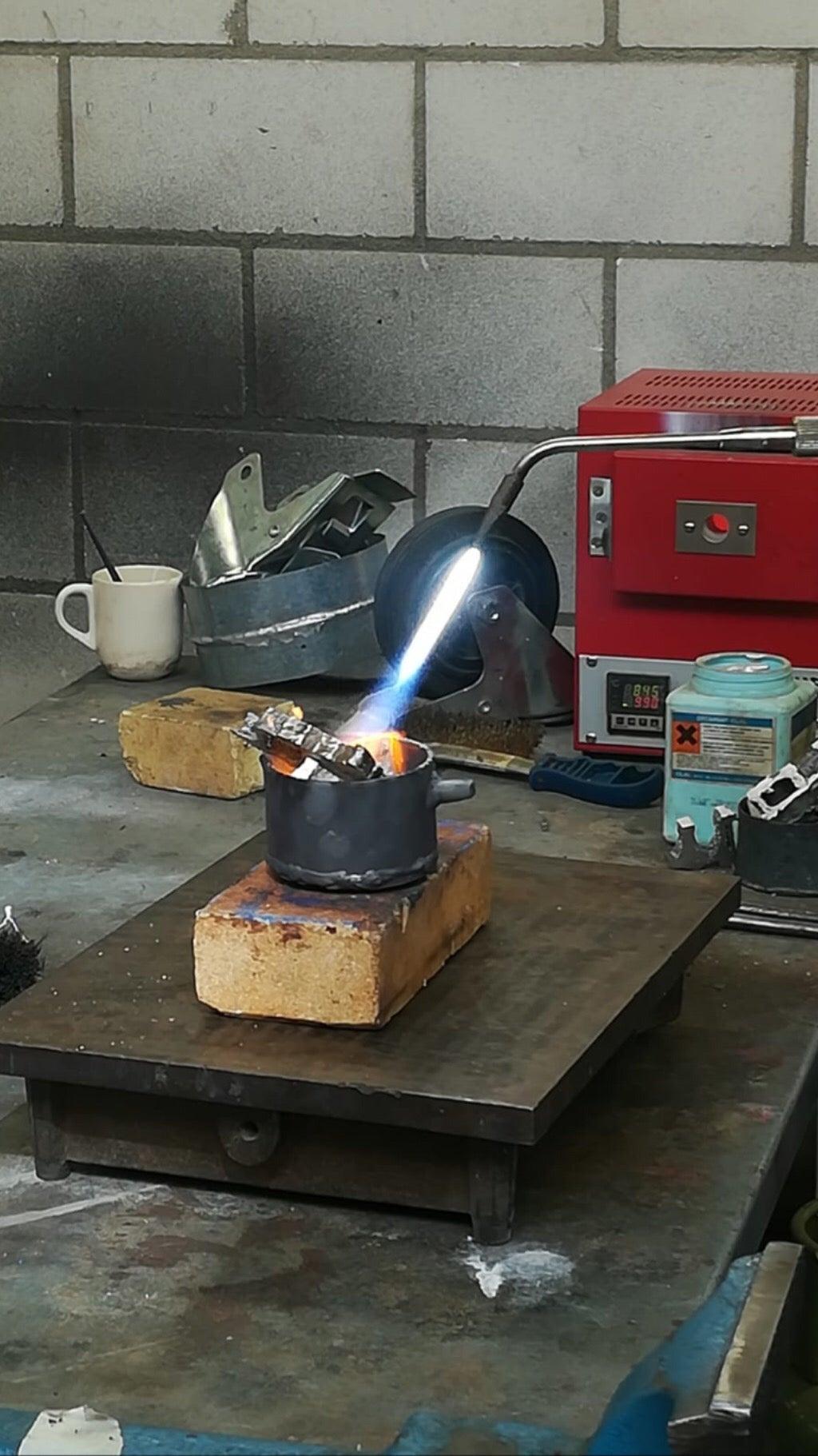 Melting Aluminium
