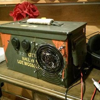 AMPLFY - Ammo Box Portable Speaker!