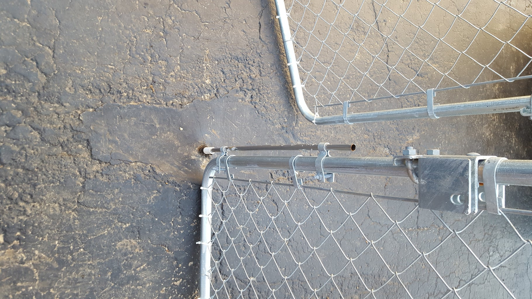 Add Rod to Secure One Side