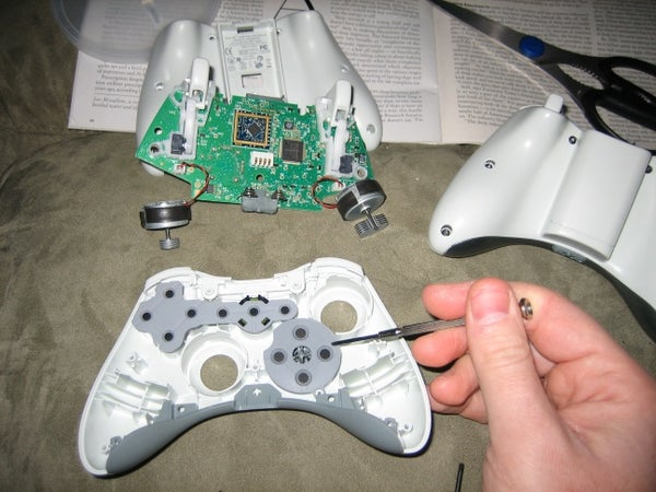 DIY Fix the D-pad on the Xbox 360 Control Pad (more Than Just Sanding)