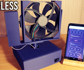 Wireless Fan Fully Controlled Using Your Phone!