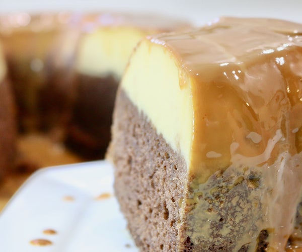 How to Make the Best Chocoflan | Super Easy Recipe | Chocolate Flan Cake