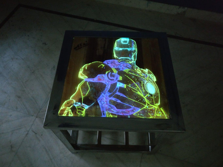 Iron Man Stool