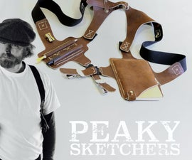 Sketchbook Shoulder Holster