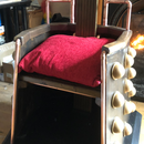 Steampunk Dalek Chair