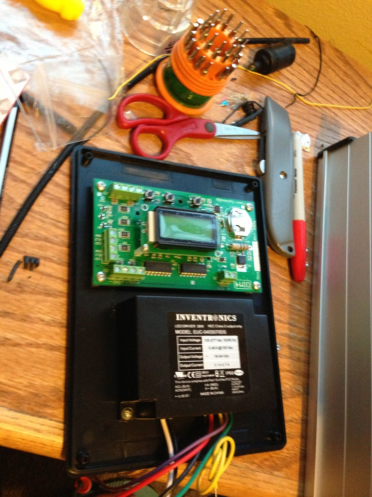 """Replacing """"so Many"""" Red Colored Wires"""