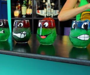 Ninja Turtle Adult Slushies