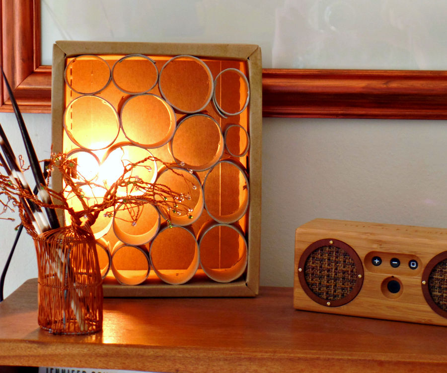 Light-up Cardboard