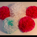 Flower Decor Out Of Napkins