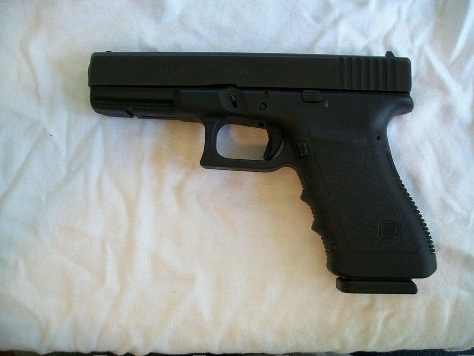 Glock 21 Slide Takedown