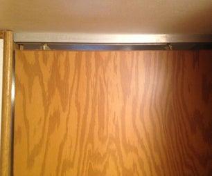 Fixing an RV Sliding Door