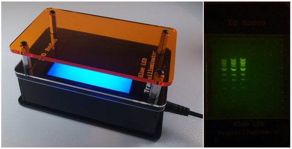 Blue LED Transilluminator