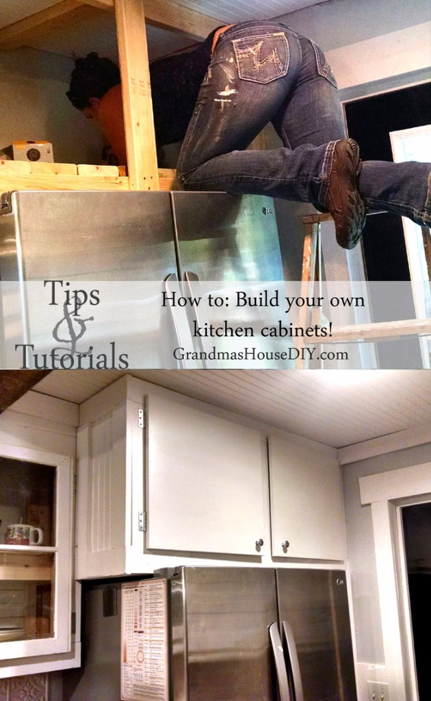 How To Build Your Own Kitchen Cabinets With Pictures Instructables