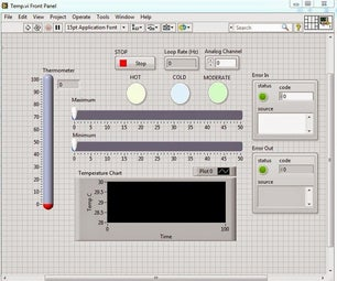Temperature Control Using Arduino and LabVIEW