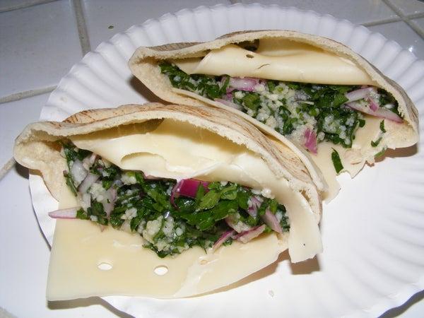 Tabouli Rider Sandwich