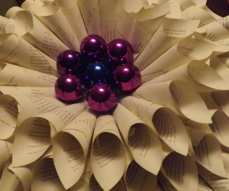 Majestic Upcycled Christmas wreath