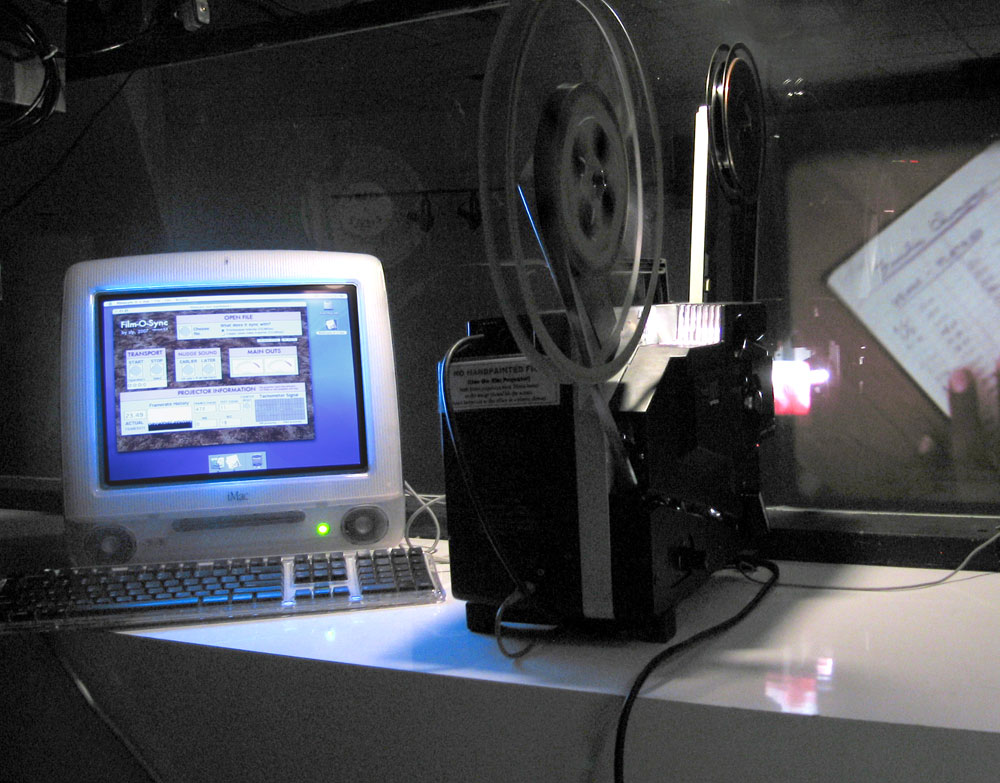 Sync Digital Sound to Your 16mm Film Projector