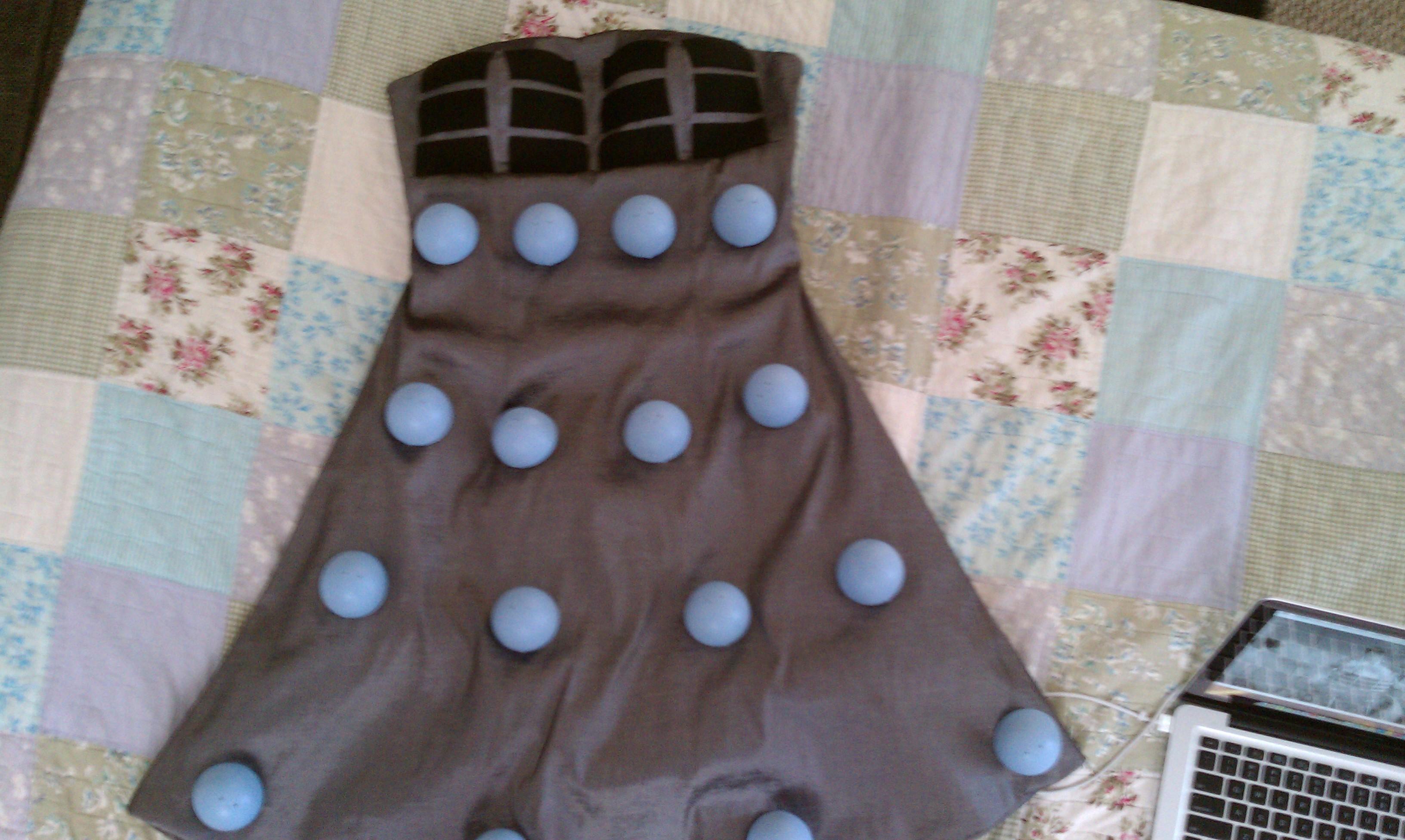 Doctor Who Dalek Dress