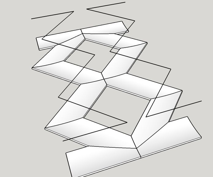 Grey Hoverman Free TV Parabolic Reflector