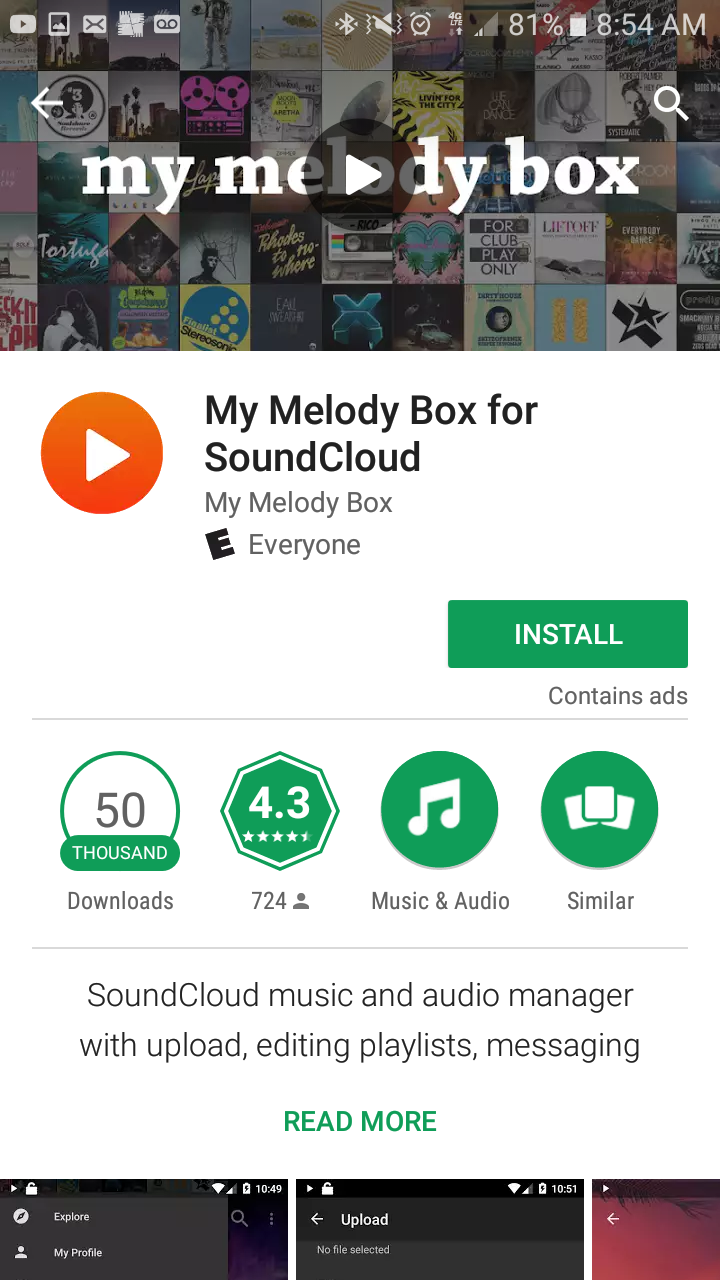Get My Melody Box for Soundcloud