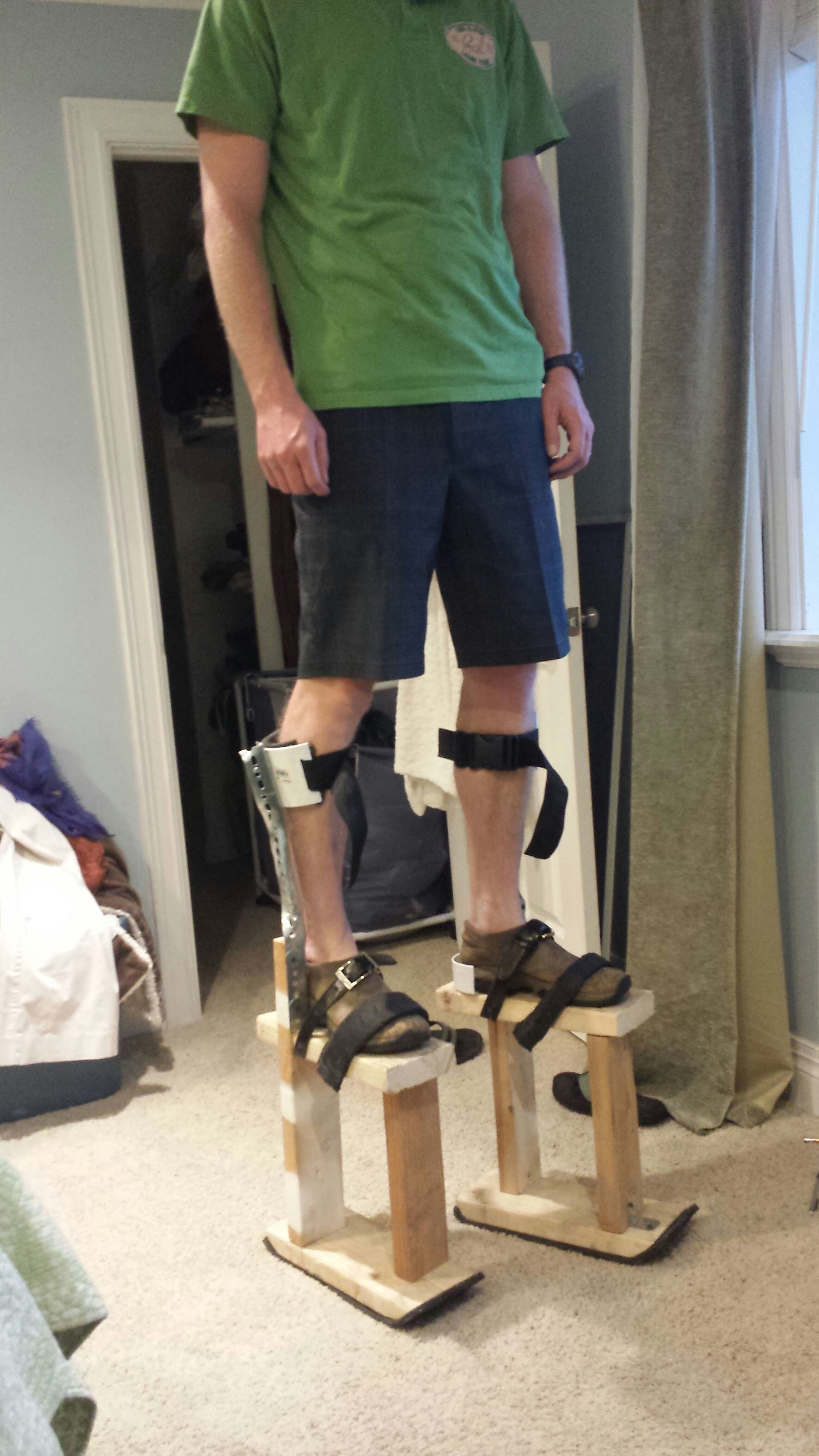 Homemade Stilts