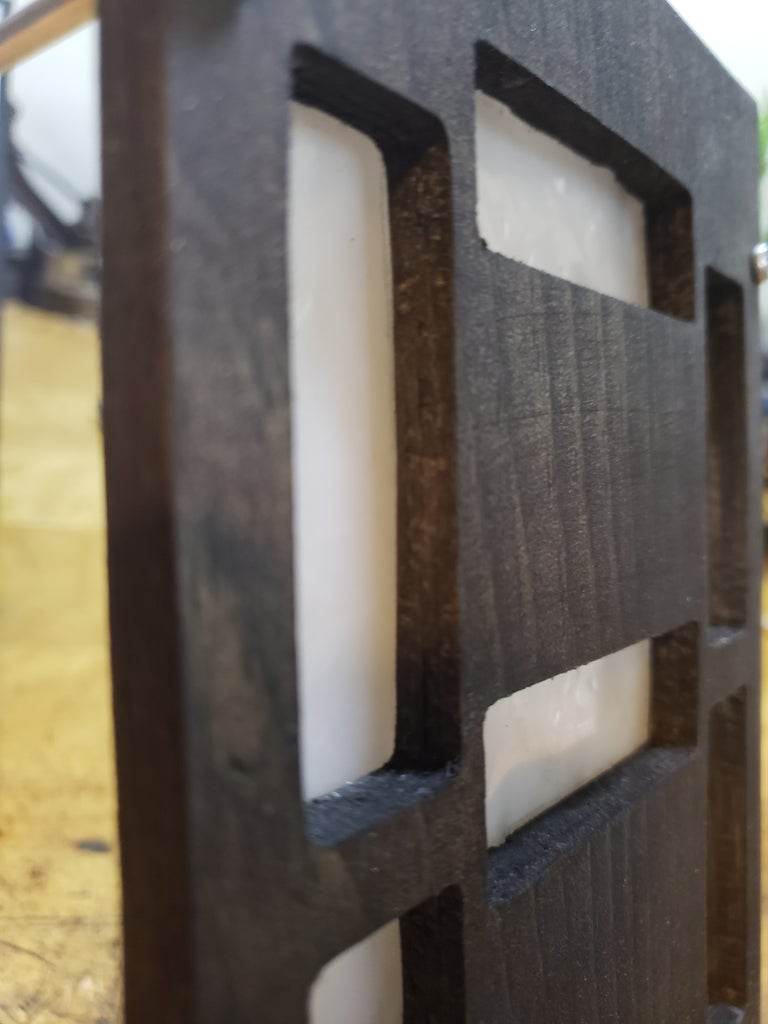 Post-processing (Sanding and Staining)
