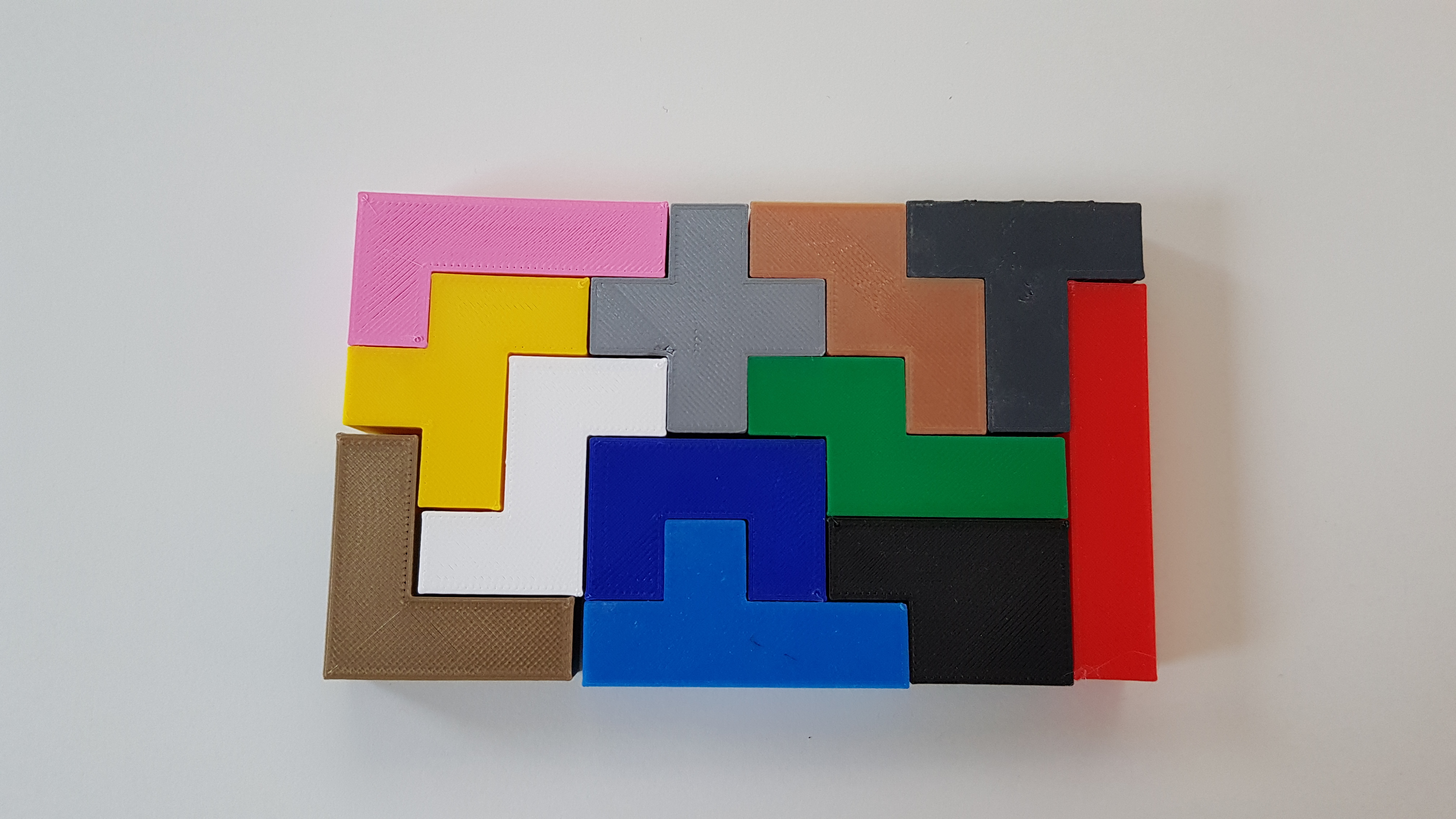 3D Pentominoes Puzzle