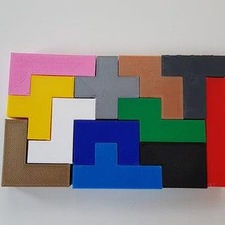 3D Pentominoes Wood Block Puzzle