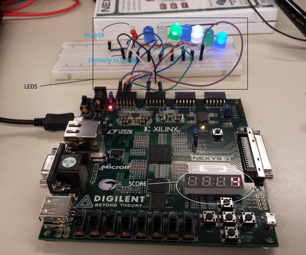 BitRunner FPGA Game