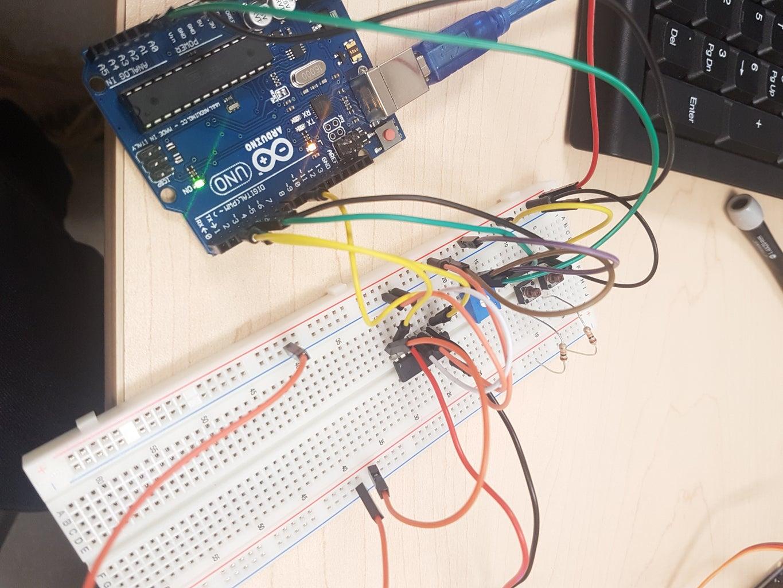 Adding the Potentiometer and H-Bridge