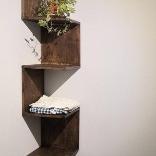 How to Build a Corner Shelf for You Bathroom at TechShop
