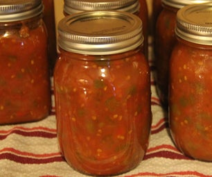 How to Can Chili Sauce