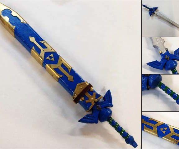 EVA Foam Legend of Zelda Master Sword & Scabbard