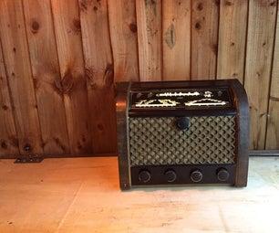 20 Watt Bluetooth Vintage Valve Radio Modification / 20瓦藍牙復古真空管收音機修改