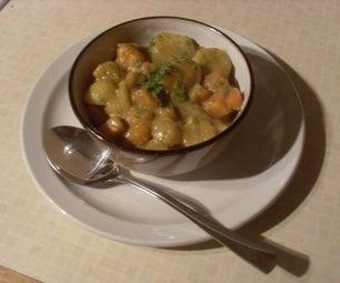 Vegetable Broth (serves 2)