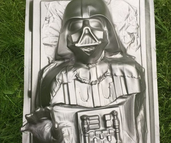 Darth Vader in Carbonite Vacuum Forming - Star Wars