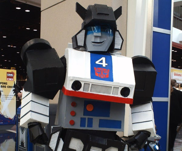 """How to Make a Transformers: """"Jazz"""" Costume"""