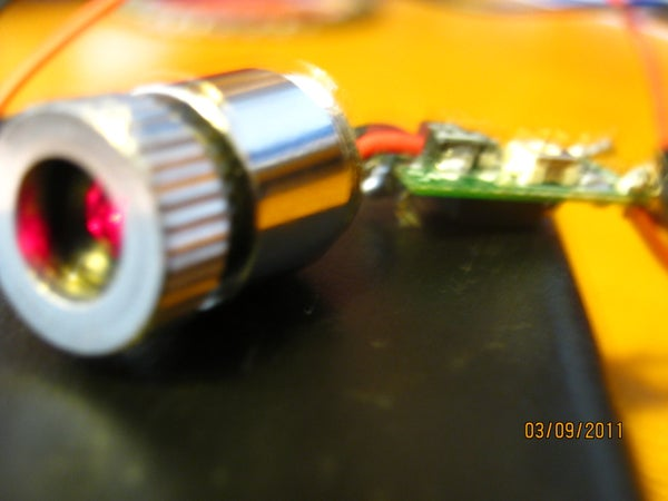 Easy Red Laser (That Burns) for Under $40