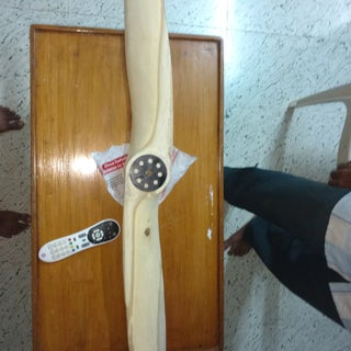 Wood Propeller Fabrication