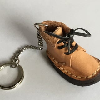 Small Boots Accessory With Pattern