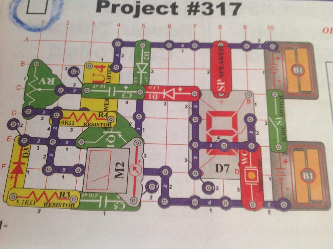 How to Make the Snap Circuits Mega Circuit