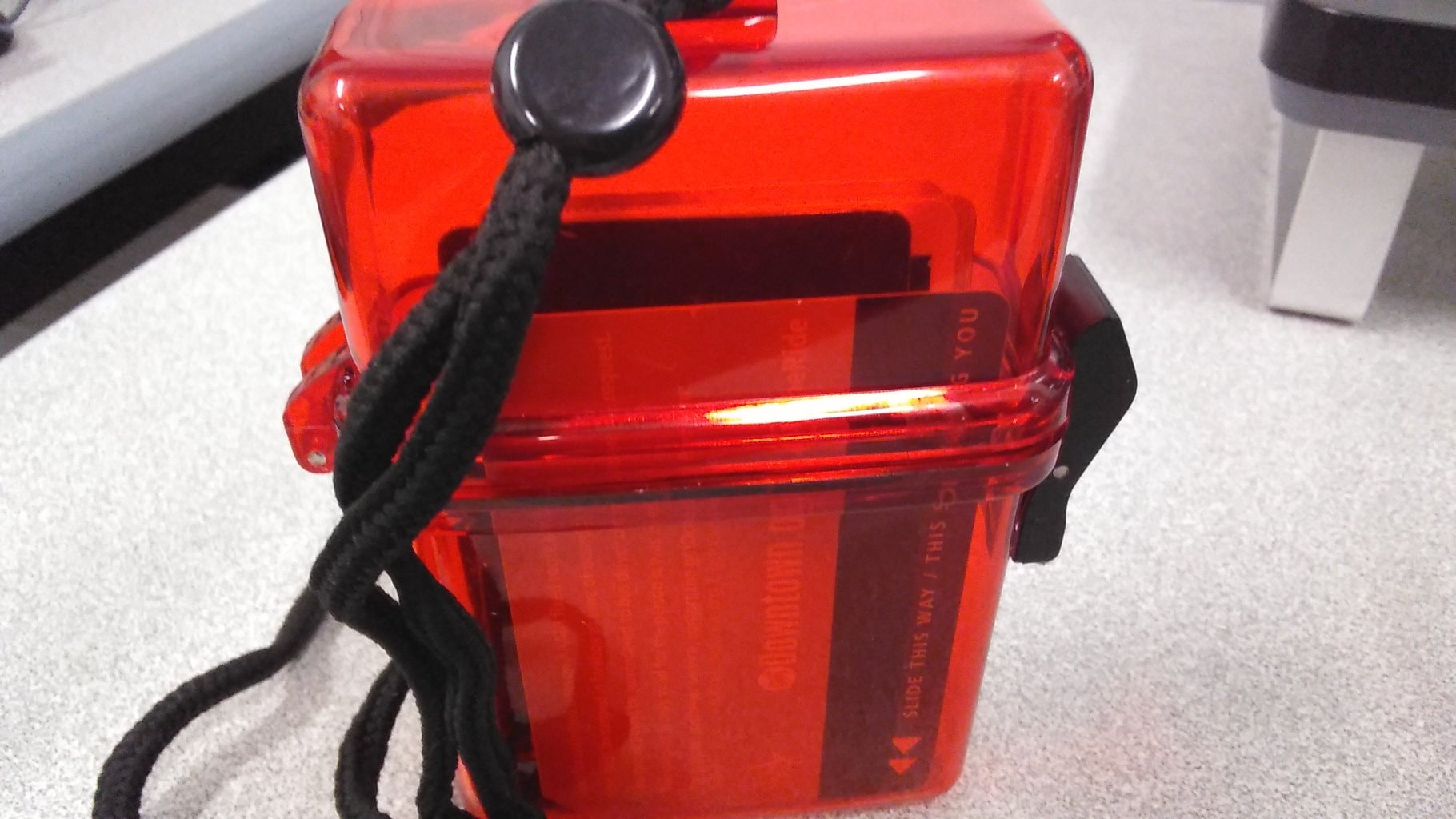 Fill Your Keep With Items and Close With the Side Lock
