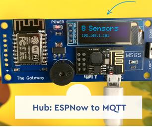 The New Hub - ESPNow to MQTT/HTTP