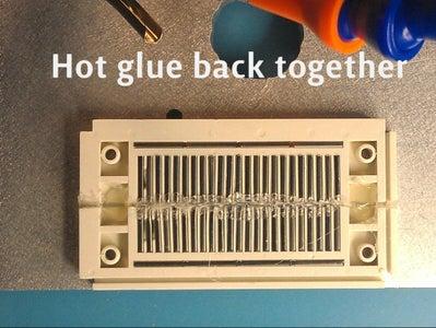 Hot Glue the Bottom